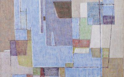 Geer van Velde (1898-1977)  Composition (ca.1951)