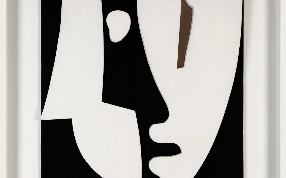 Hans Richter (1888-1976)-DADA head after a drawing 1918/74