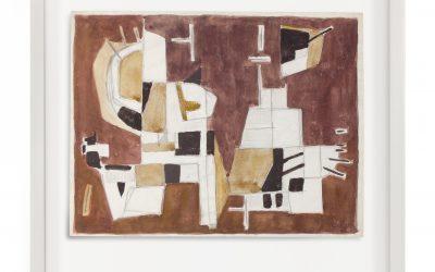 Geer van Velde (1898-1977)  Composition (ca.1948)
