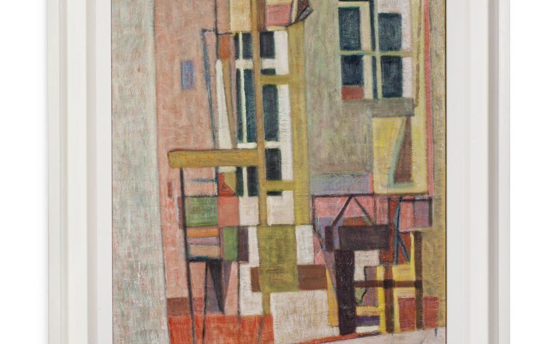 Geer van Velde (1888-1977)Composition (ca.1947)