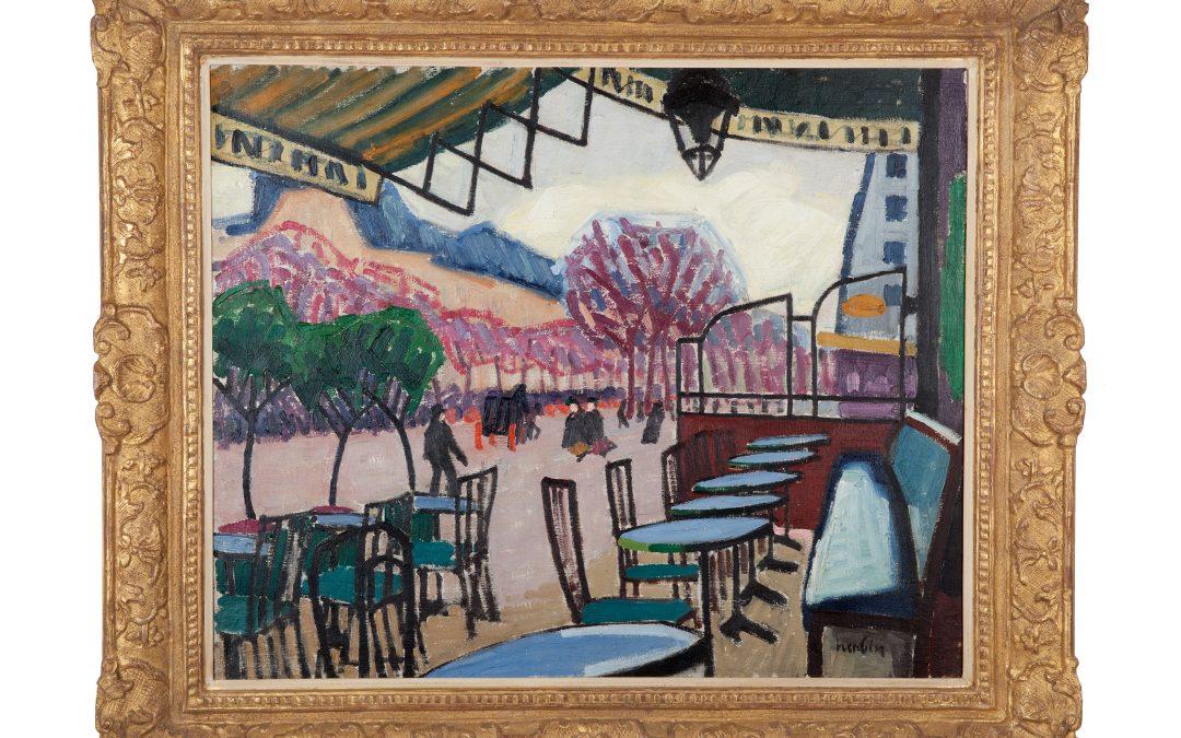 Auguste Herbin – La Terrasse de café (1907)