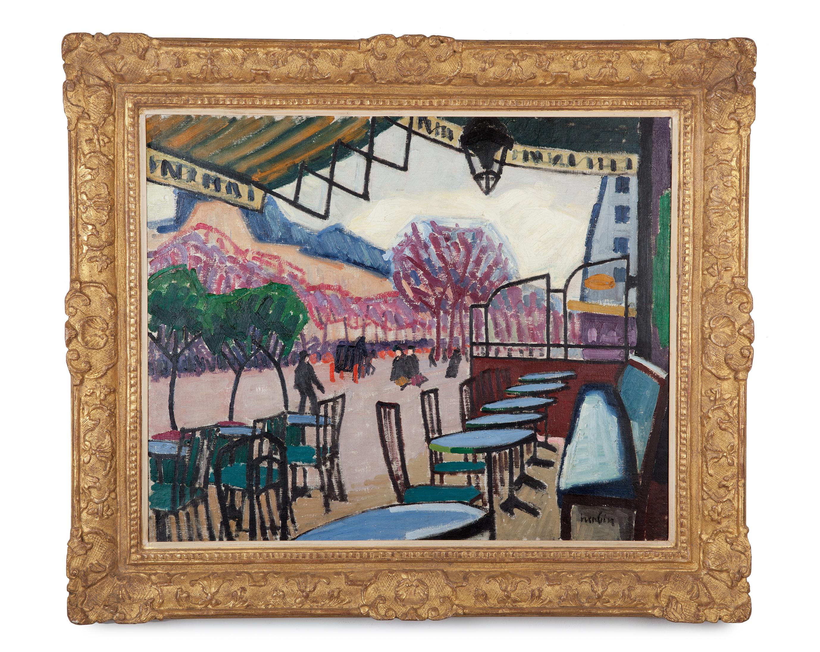 Auguste Herbin (1882-1960)La Terrasse de café (1907)