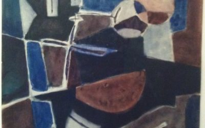 Geer van Velde (1898-1977)Composition (ca.1960)