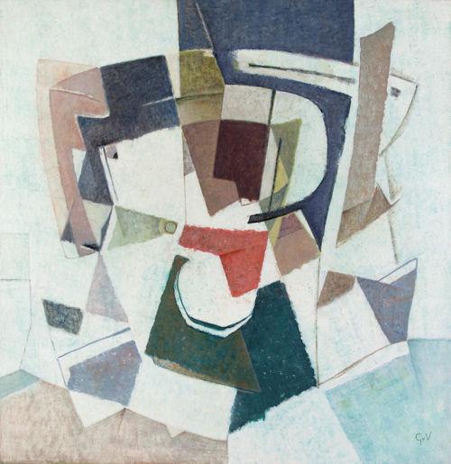 Geer van Velde (1898-1977) Composition (ca.1960)