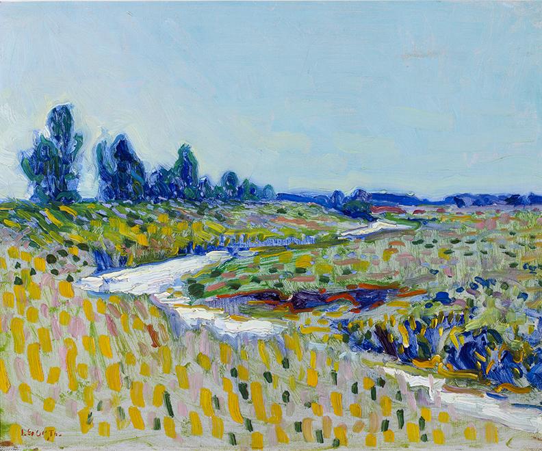 Leo Gestel (1881-1941)Landschap (ca.1908/10)