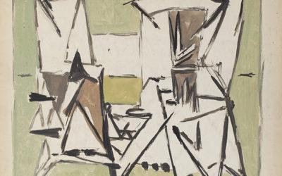 Geer van Velde (1898-1977)Compositie (ca.1946)