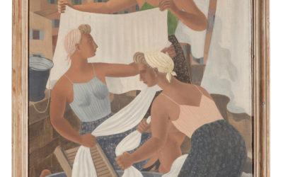 FERDINAND ERFMANN (1901-1968) Vrouwen in Dalmatië