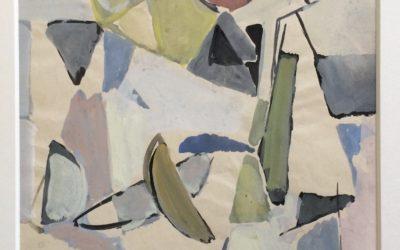 GEER VAN VELDE  (1898-1977) Compositie (ca.1960)