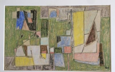 GEER VAN VELDE (1898-1977) Composition (1948/50)