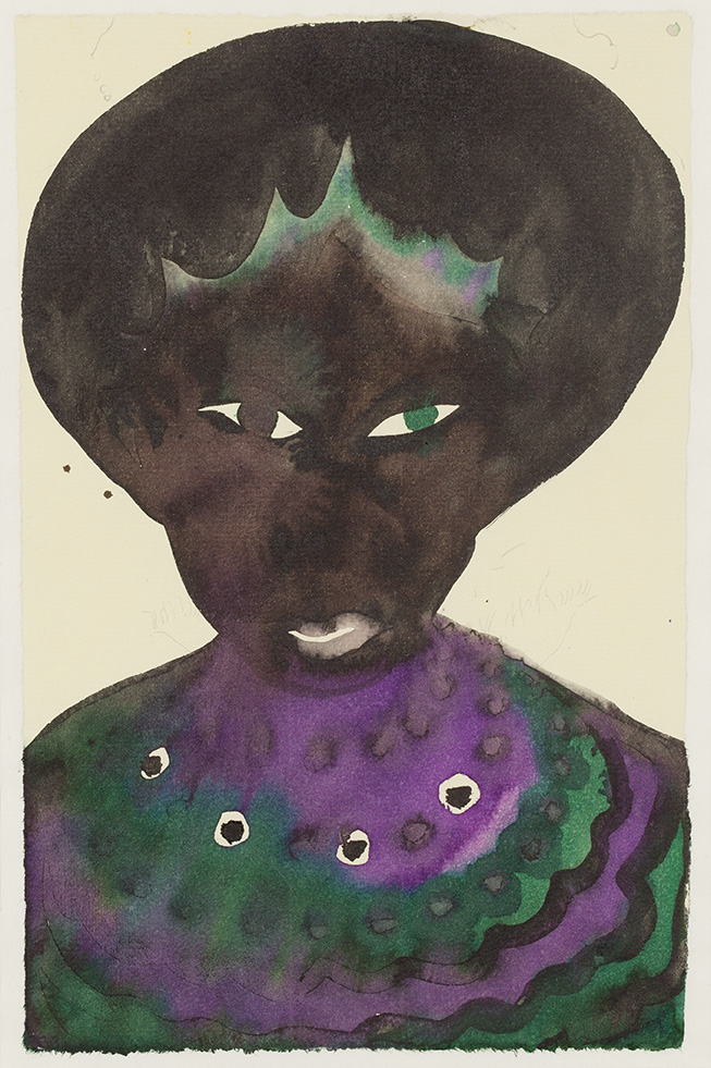 CHRIS OFILI (1968)Untitled (1998)