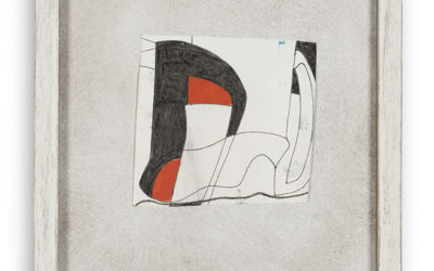 BEN NICHOLSON (1894-1982)RED AND BLACK 2 (1981)