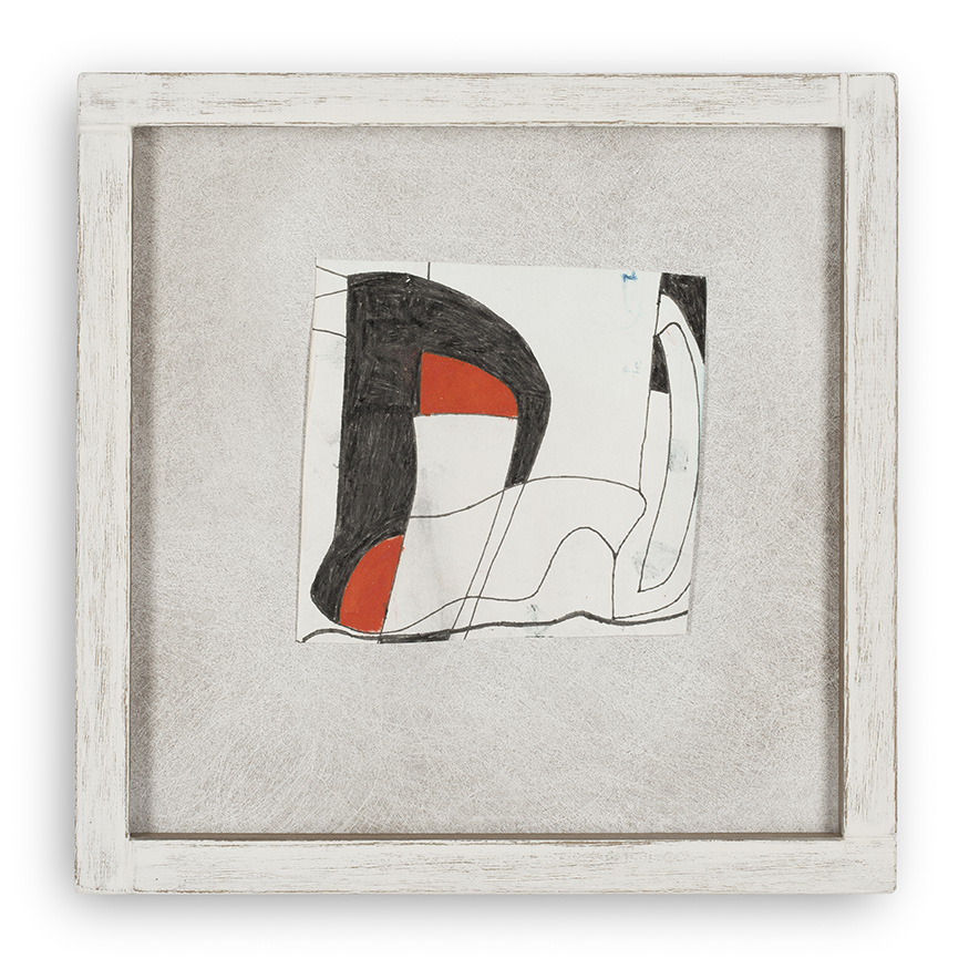 BEN NICHOLSON (1894-1982)RED AND BLACK 2 (1981)
