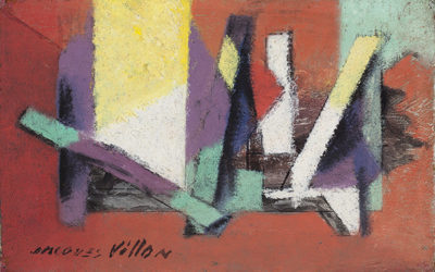 JACQUES VILLON (1875-1963)CONSTRUCTION (1945)