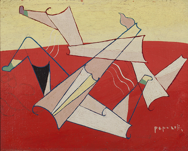 GEORGES PAPAZOFF (1894-1972) A LA PLAGE (1925/26)