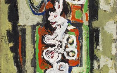 CORNEILLE (1922-2010)CORPS ORCHIDÉE (1955)