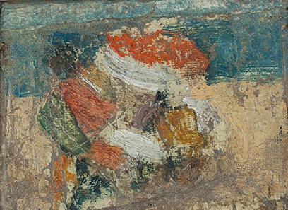 JEAN POUGNY (1892-1956) Strandscène