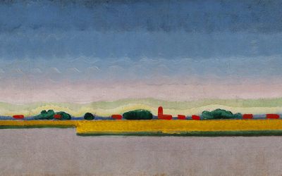 John Räedecker (1885-1956)Landscape outside Paris