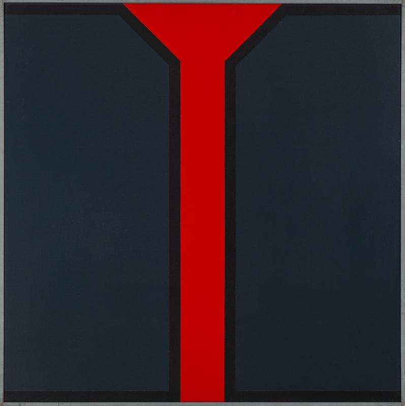 Geert van Fastenhout (1935-2016)schilderij 2-1973