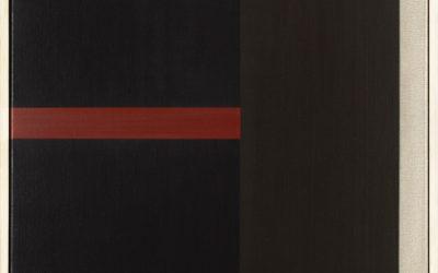 GEERT VAN FASTENHOUT (1935-2016)Schilderij no.8 2006/07