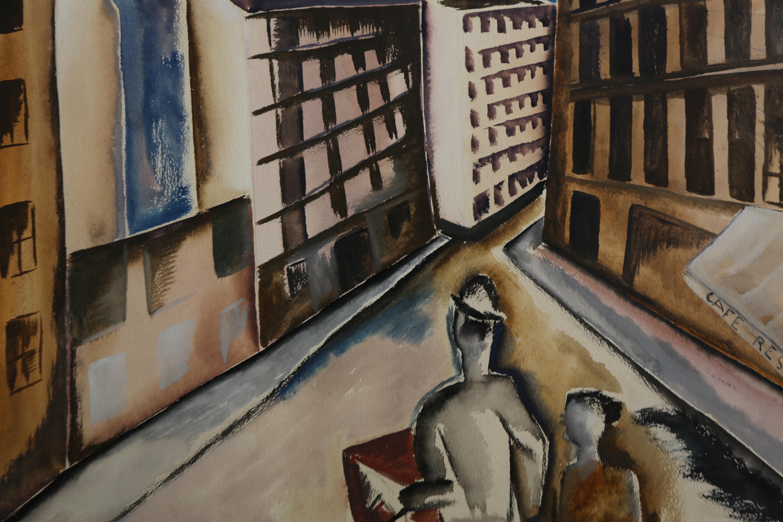 OSSIP ZADKINE (1890-1967)La Ville