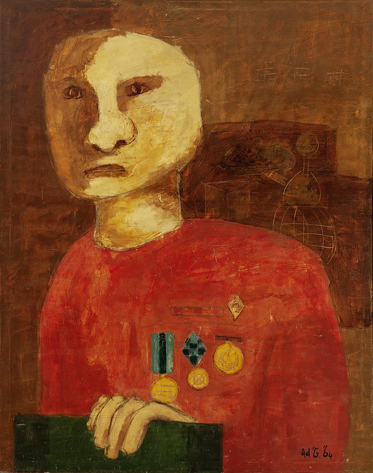 AD GERRITSEN (1940-2015)Merit I
