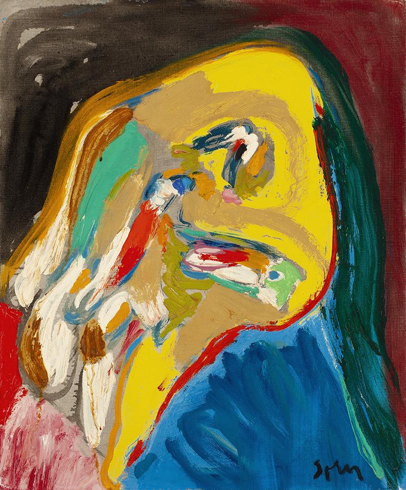 ASGER JORN (1914-1973) VISAGE FOLLE