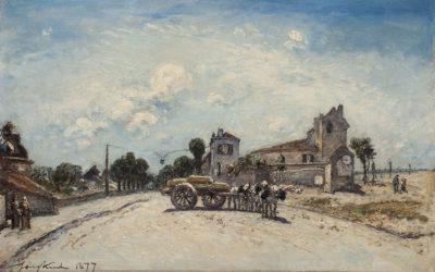 Johan Barthold Jongkind (1819-1891)Le Boulevard Port-Royale
