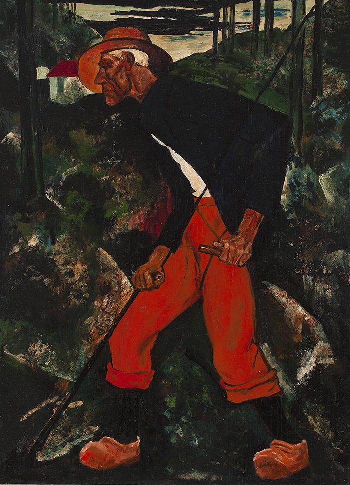 WILLEM VAN DEN BERG (1886-1970) THE REAPER (ca.1932)