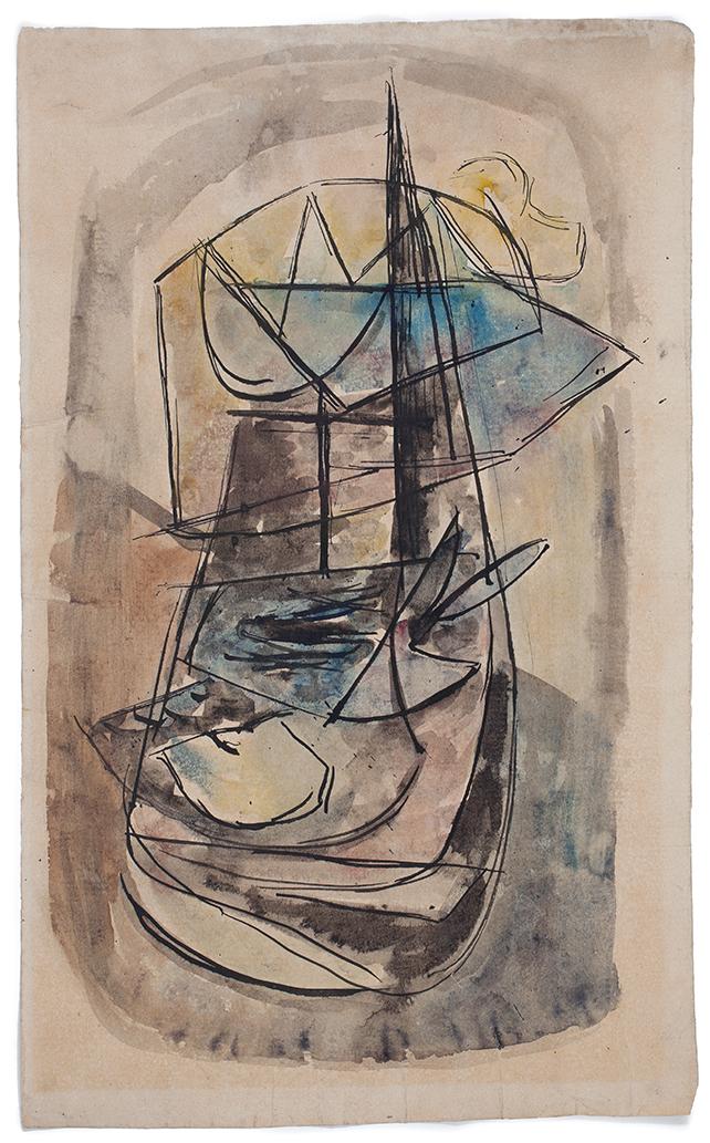 FRANTISEK FOLTYN (1891-1976)Obraz (ca.1936)