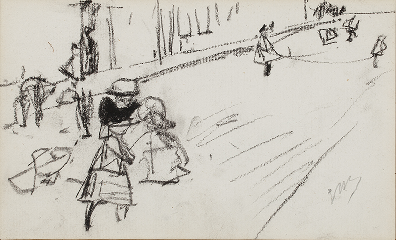GEORGE HENDRIK BREITNER (1857-1923)CHILDREN PLAYING