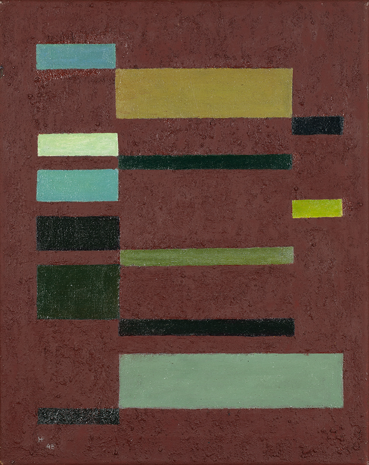HENK PEETERS (1925-2013)COMPOSITION (1945/46)