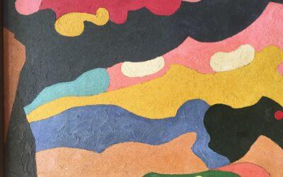 ARTHUR KRUMME (1900-1969)Landscape (ca.1950)