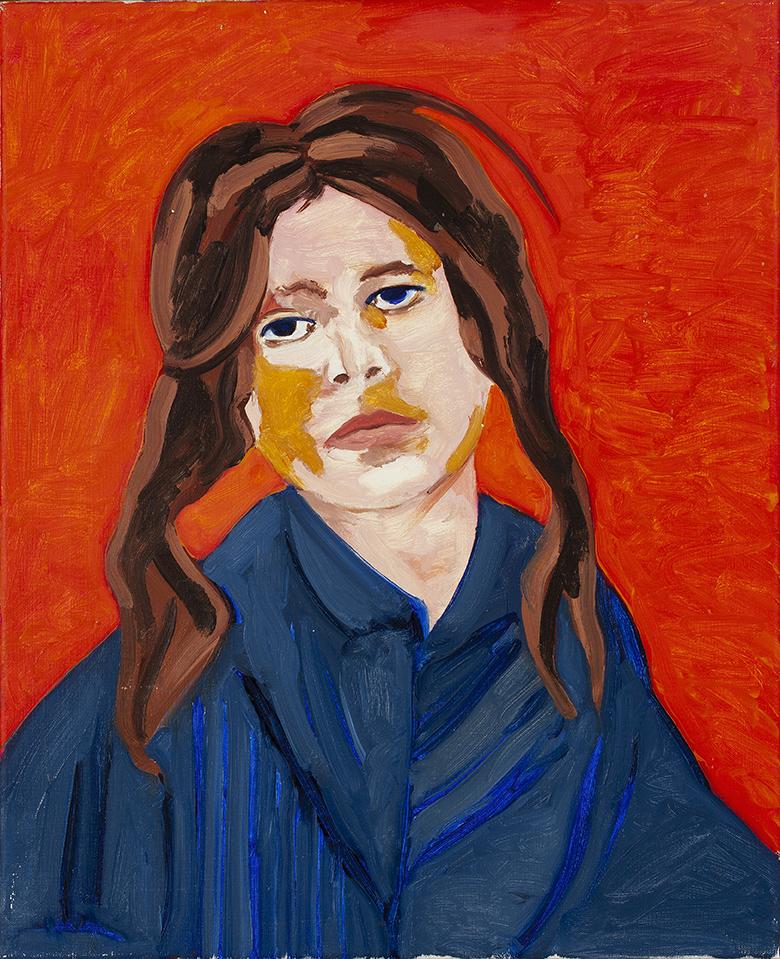 AD GERRITSEN (1940-2015) GYPSY GIRL