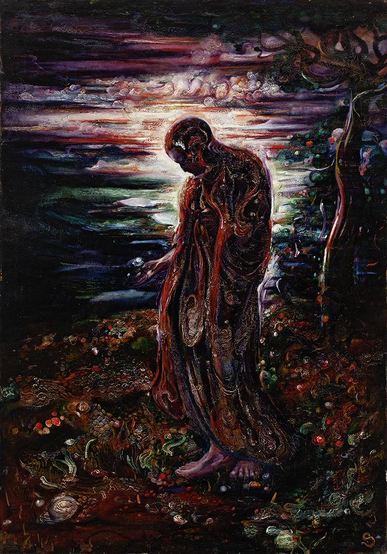 FRANS STAMKART (1874-1947)AN EVENING WALK(ca. 1900-1905)