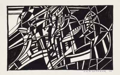 JO VERGEER (1894-1969)COMPOSITION (1914)