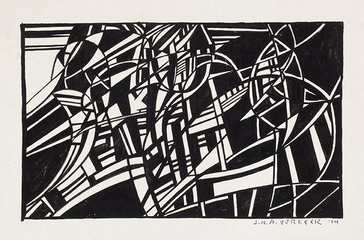 JO VERGEER (1894-1969)COMPOSITION (1914)
