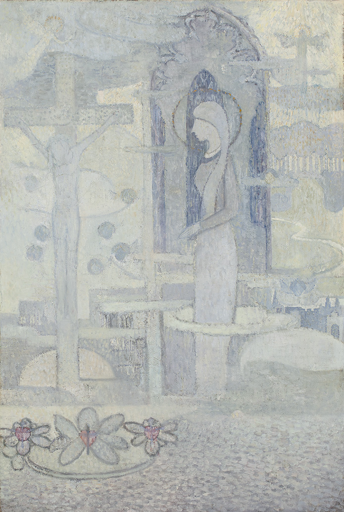 HENRI VAN DAALHOFF (1867-1953)CHRISTUS (CA. 1893)