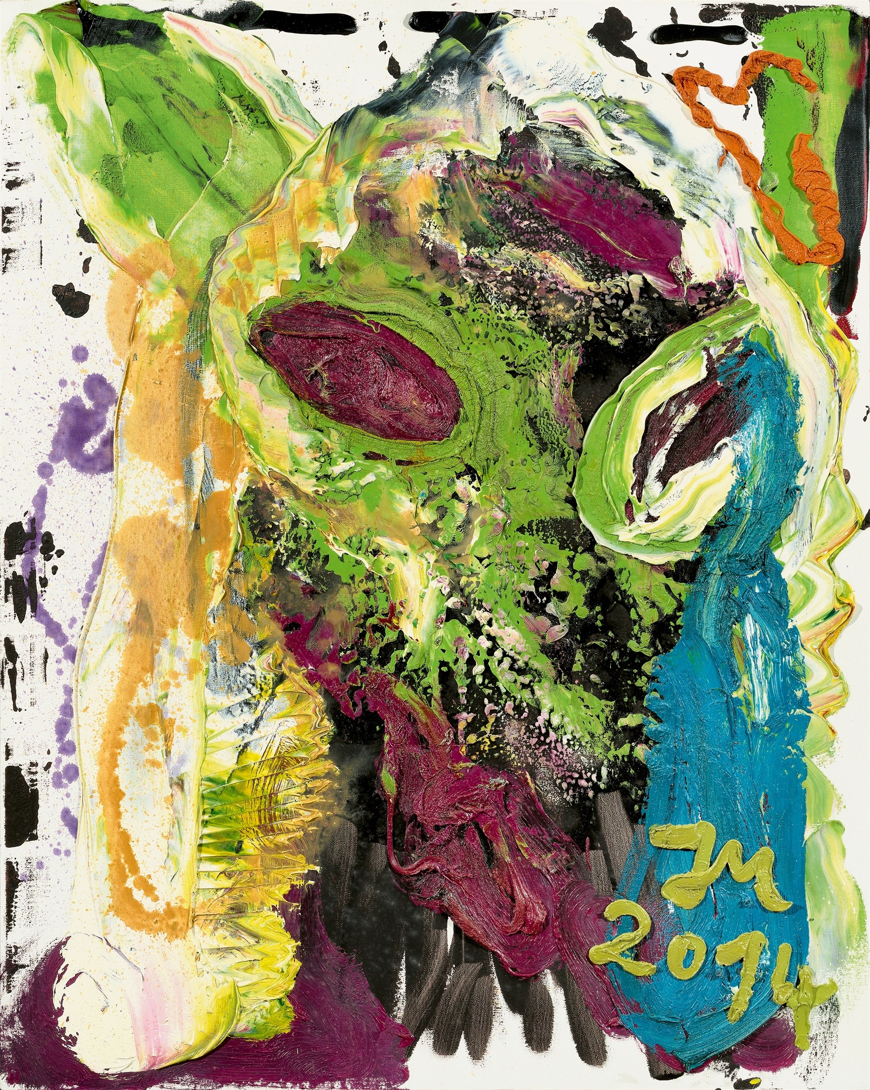 JONATHAN MEESE (1970)'DR. FISH AND CHIPS' IS TOO FIT IN COLD BELLY 'HOTTIE)