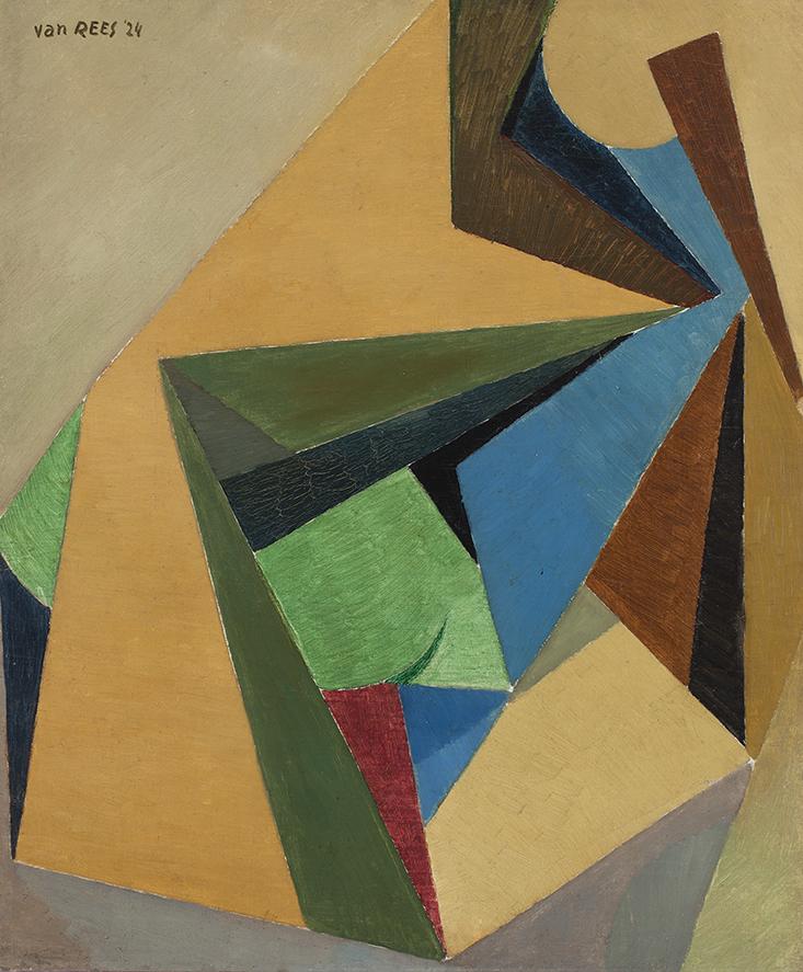 OTTO VAN REES (1884-1957)COMPOSITION (CA.1913/14)