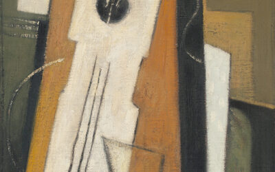 OTTO VAN REES (1884-1957)COMPOSITION WITH GUITAR (CA.1916)