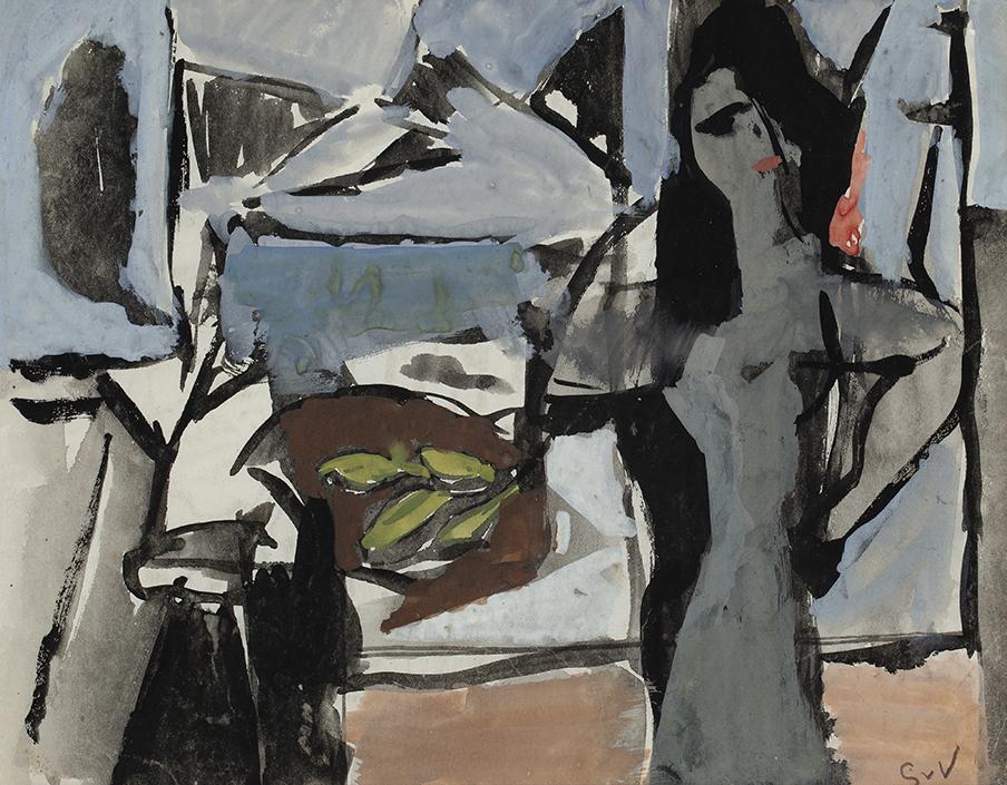 GEER VAN VELDE  (1898-1977) SANS TITRE (CA.1943)