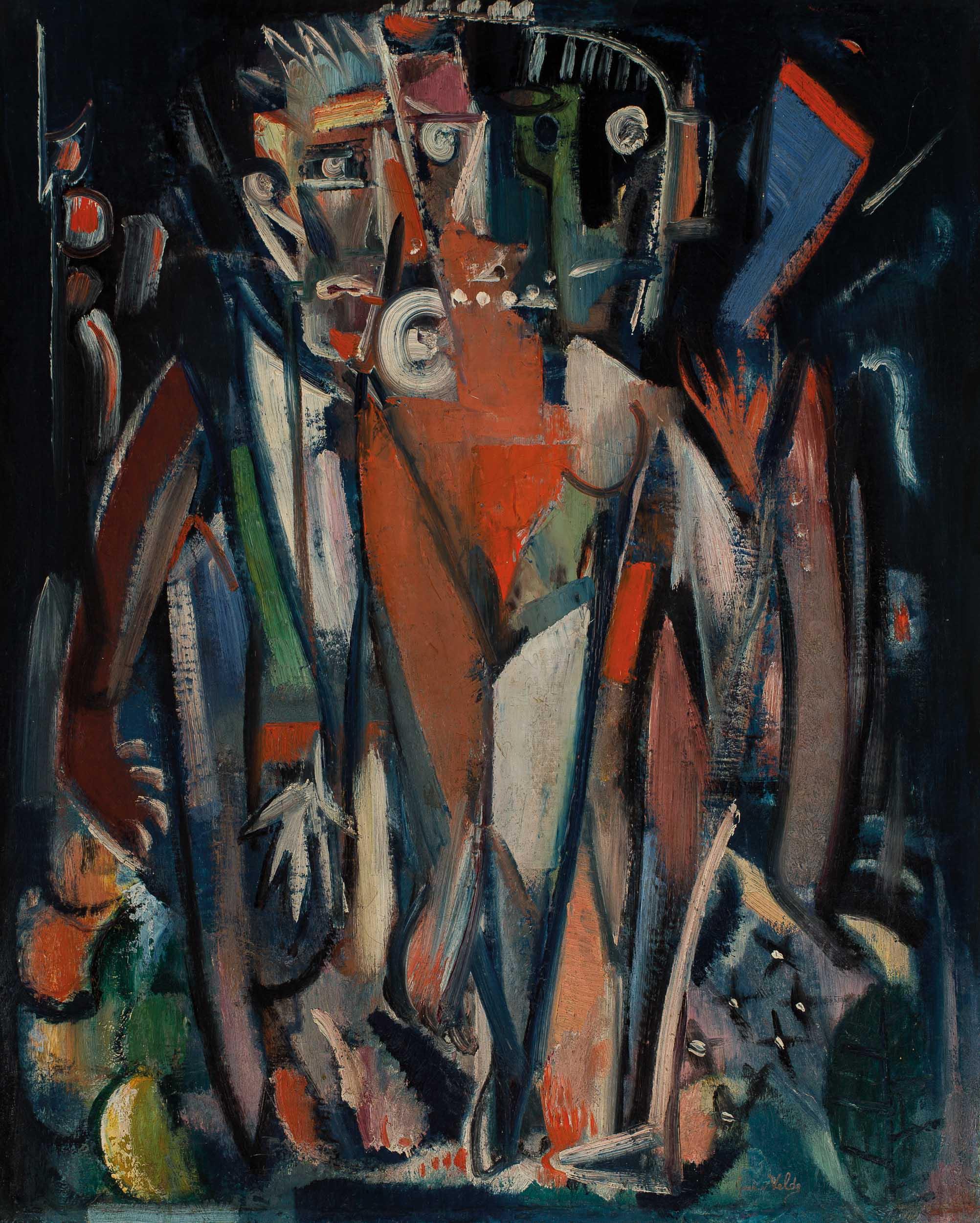 GEER VAN VELDE (1898-1977)DANCERS (CA.1928/29)