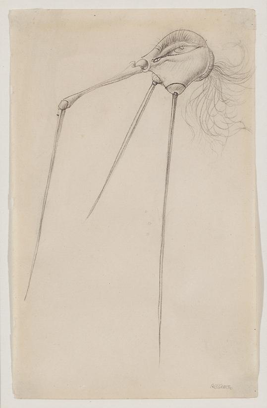 HANS BELLMER (1902-1975) Sans Titre (CA 1945)
