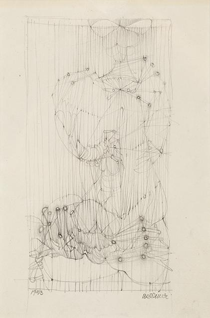 HANS BELLMER (1902-1975) SANS TITRE