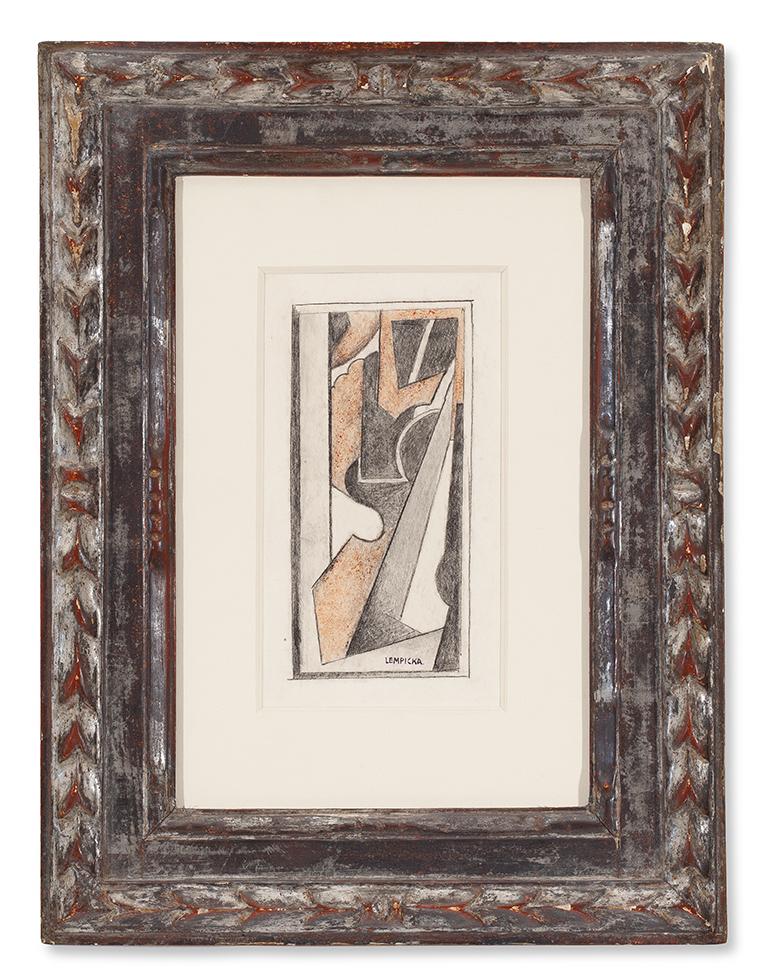 TAMARA DE LEMPICKA (1898-1980) COMPOSITION ABSTRAITE (CA.1923)